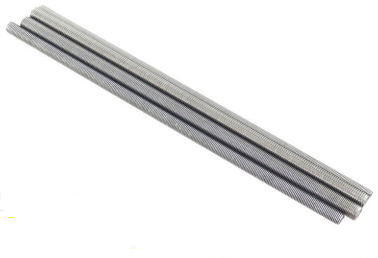 Precision Large Diameter High Strength Threaded Rod , Stainless
