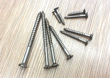 China Black Oxide Full Body Stainless Steel Raised Head Countersunk Wood Screws DIN97 Metric factory