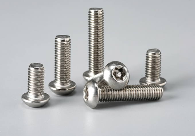 Star Drive Domestic Door Hinge Steel Machine Screws Plain Finish For Furniture SUS304 A2 - 80